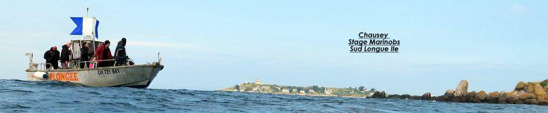 Granville-Chausey — La plongée aux iles Chausey
